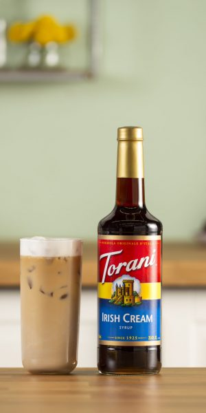 Irish Cream Iced Latte